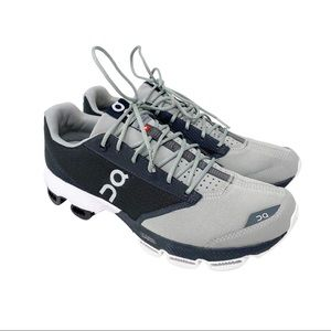 On Running Shoes Cloudster Grey Black